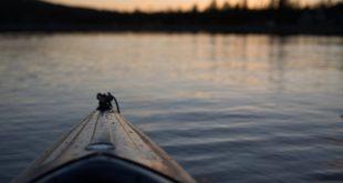 tevere in canoa
