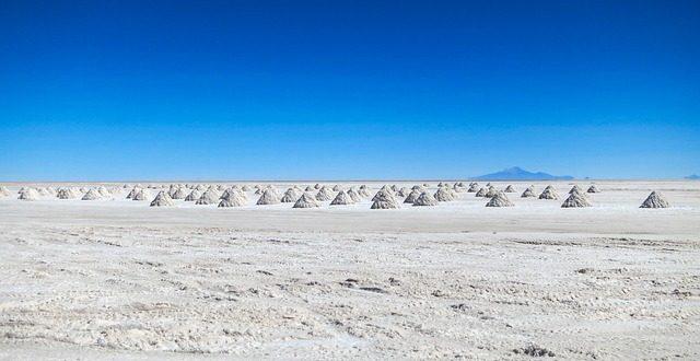 deserto di sale in bolivia