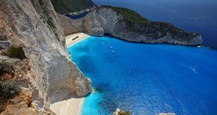 zakynthos spiaggia della grecia